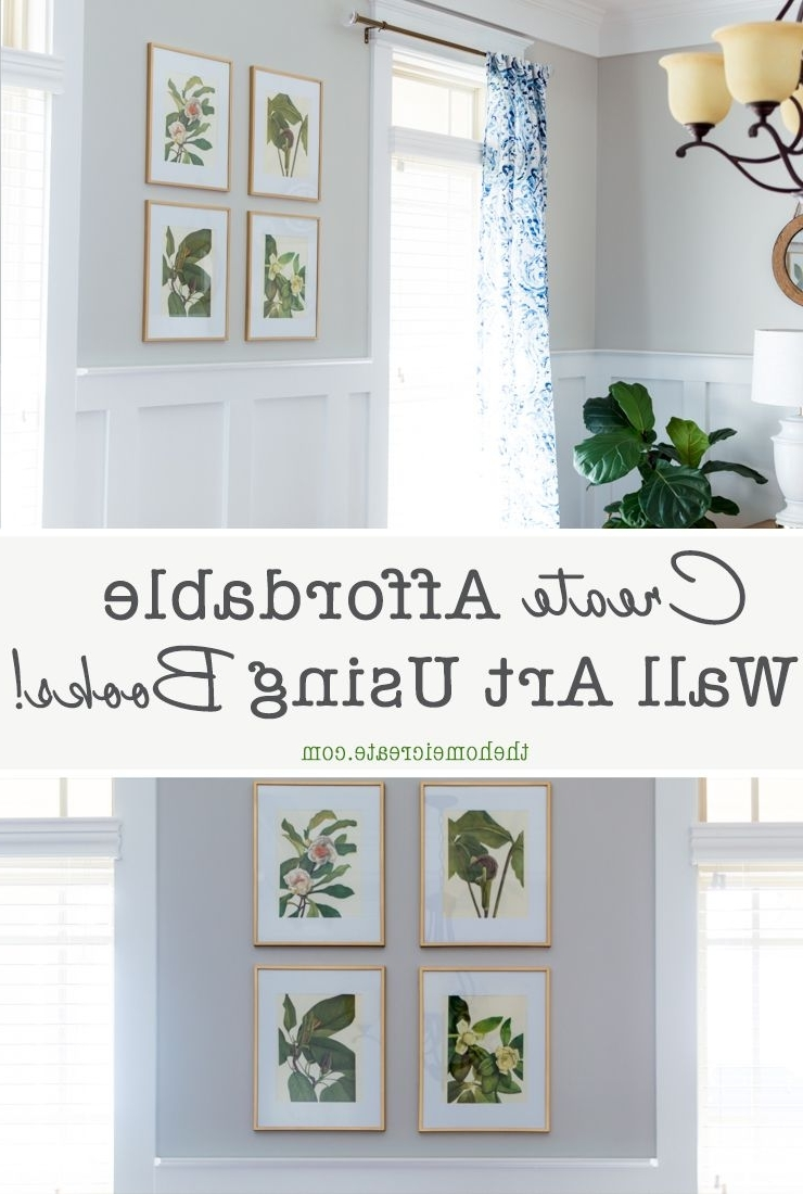Amazing Diy Projects Throughout Most Recent Affordable Wall Art (Gallery 16 of 20)