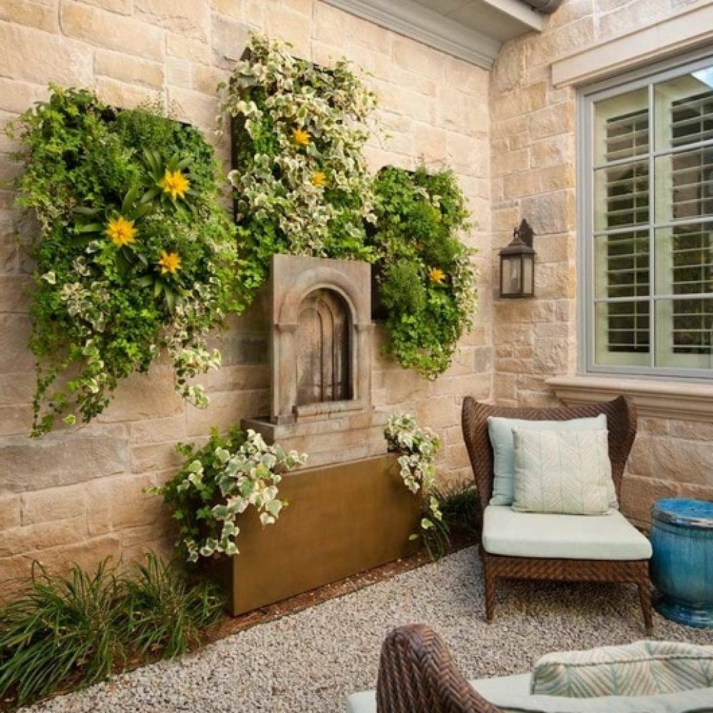 Amazing Outdoor Patio Wall Decor Ideas U Pic For Decorations And Pertaining To Favorite Outdoor Wall Art Decors (View 10 of 20)
