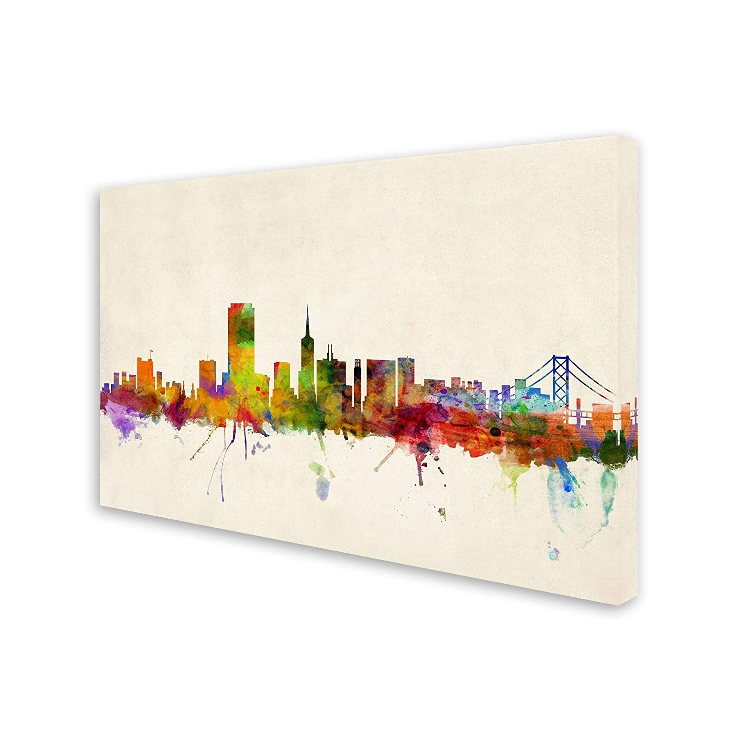 Amazon: San Francisco, Californiamichael Tompsett, 2232 With Well Liked San Francisco Wall Art (View 18 of 20)