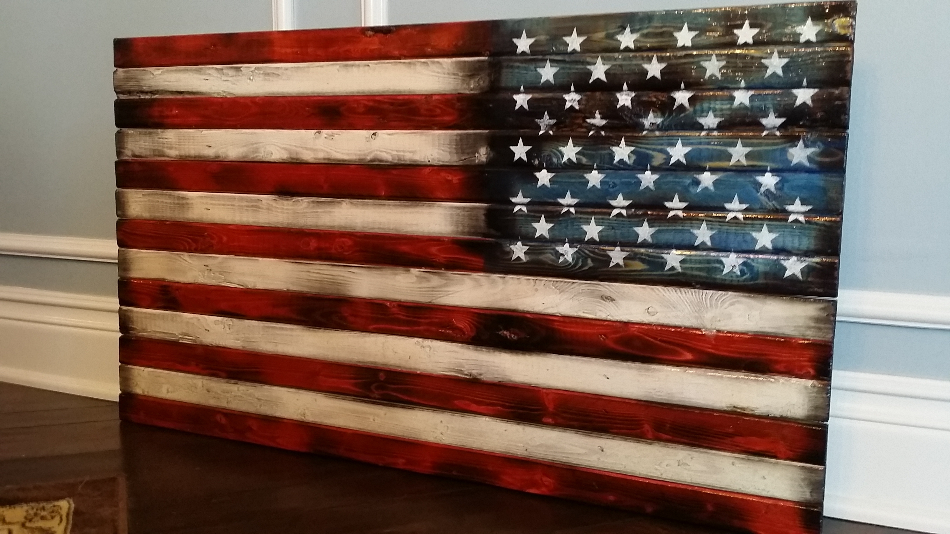 American Flag Wall Art With Regard To Well Known Super Idea Wood American Flag Wall Art Decoration Ideas Handmade In (View 4 of 15)