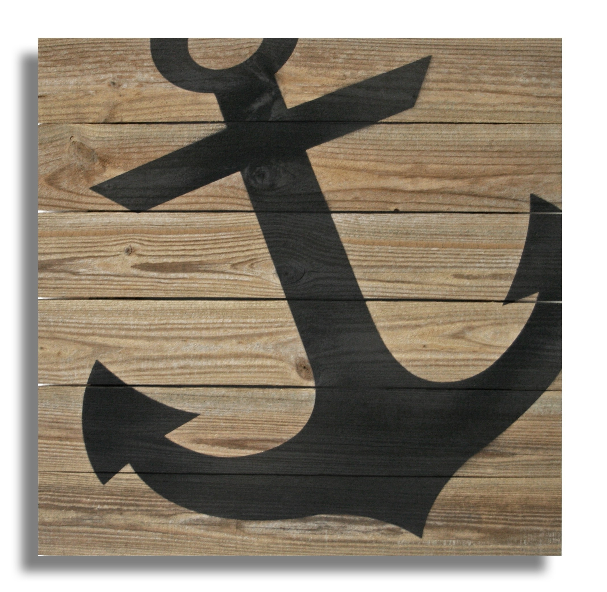 "Anchor Wall Art Throughout Famous 22"" X 22"" Repurposed Wood Anchor Wall Art – (Rcs Xl Anch) – Xl ( (View 6 of 20)"