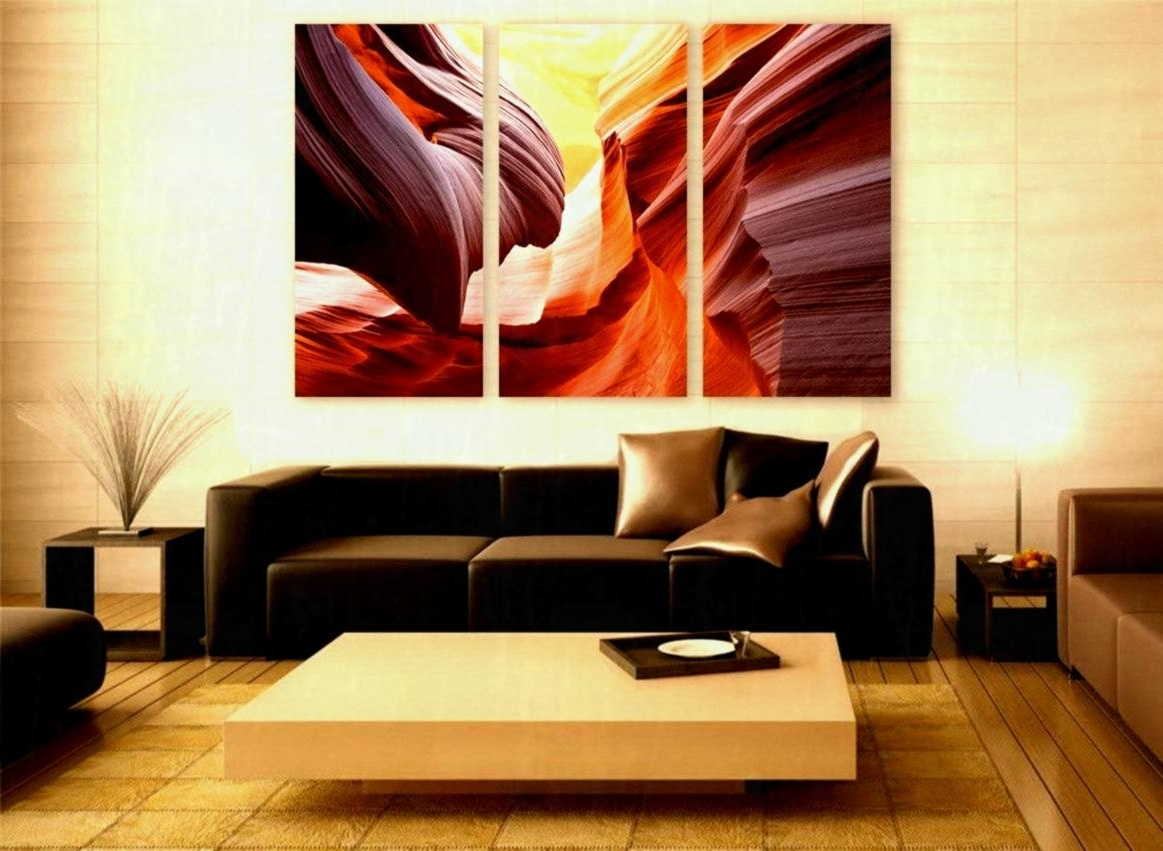 Arizona Wall Art In Most Current Large Canvas Wall Art In Current Arizona Canyon Print Panels Decor (View 5 of 20)