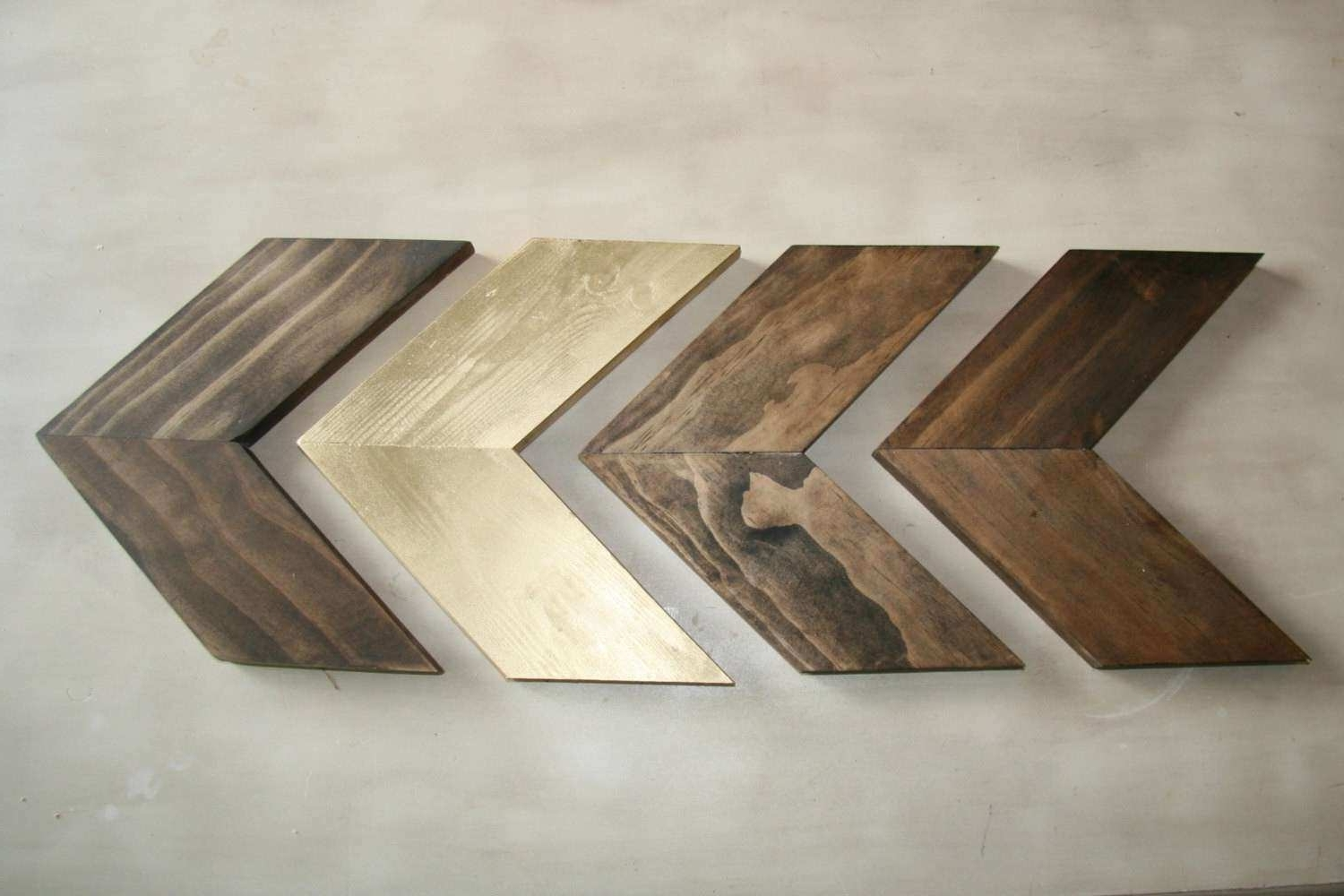 Arrow Wall Art Throughout Most Popular Arrow Wall Decor Unique Wood Chevron Arrows Wood Arrow Wall Art (View 6 of 20)