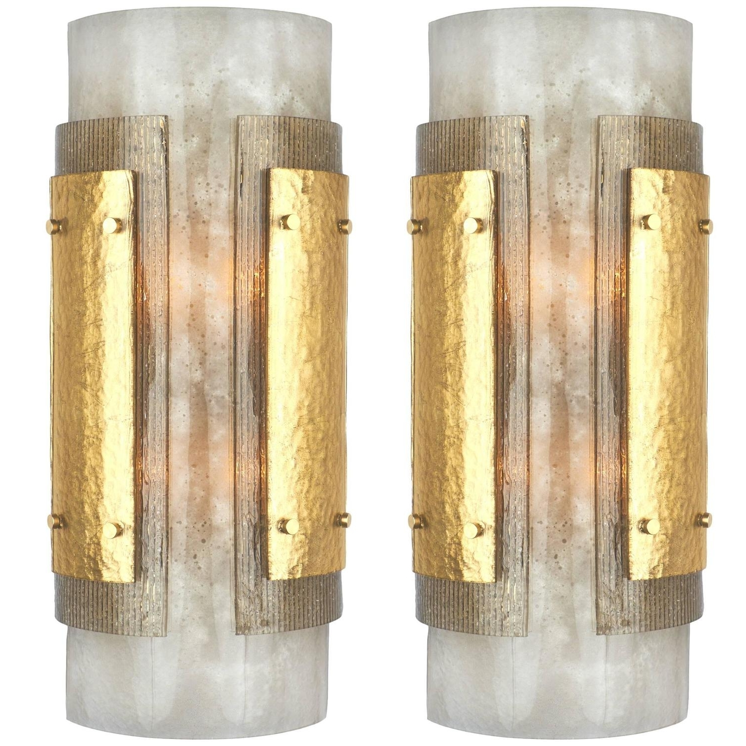 Art Deco Wall Sconces For Well Known Italian Art Deco Murano Glass Wall Sconces (View 4 of 20)