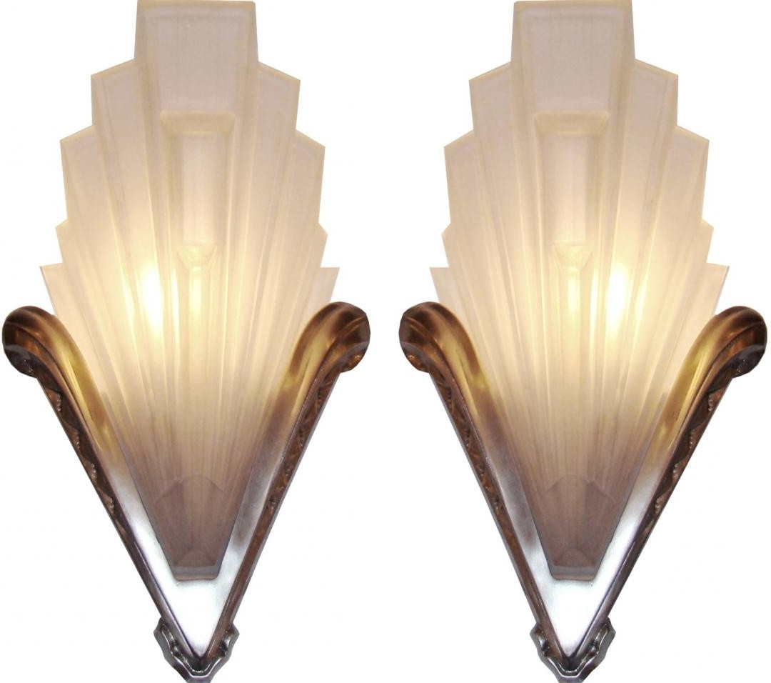 Art Deco Wall Sconces Within Best And Newest Modern Style Wall Sconces Tnjapan For Design Ideas Of Art Deco Wall (View 2 of 20)
