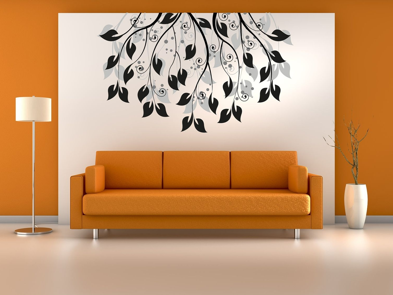 Art For Walls Regarding Newest Living Room : Creative Painting Ideas For Walls With White Wall (View 4 of 20)