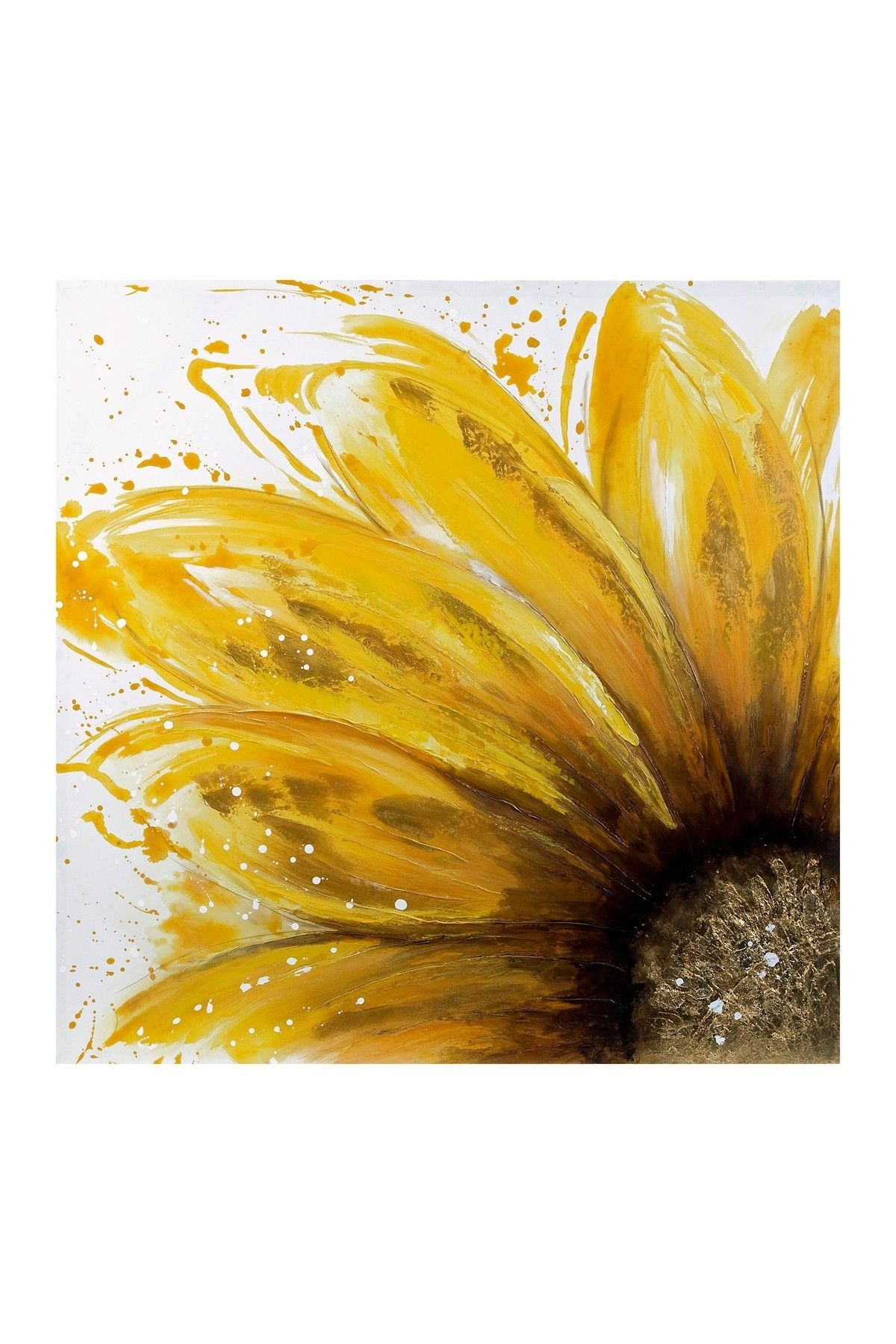 Art With Sunflower Wall Art (View 2 of 20)