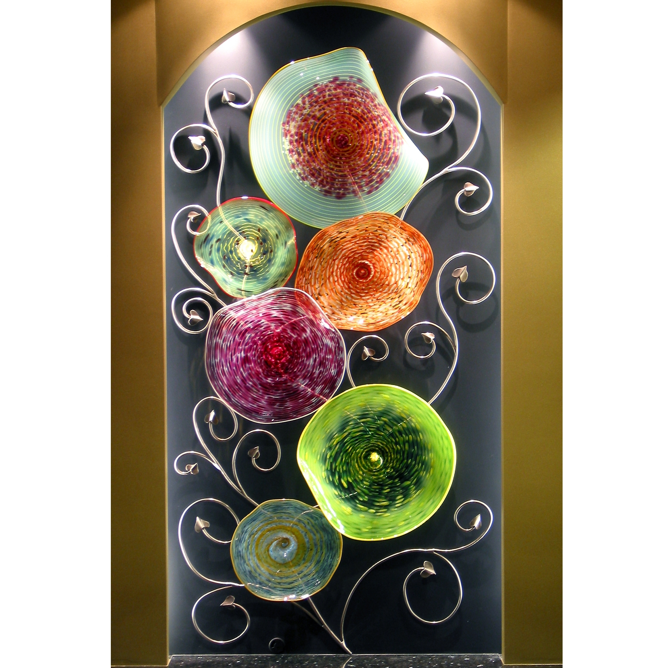Artisan Crafted Home Intended For Blown Glass Wall Art (Gallery 10 of 20)