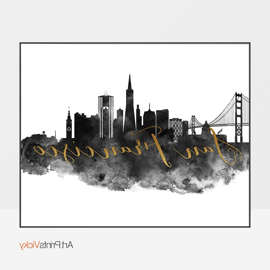 Artprintsvicky With San Francisco Wall Art (View 7 of 20)