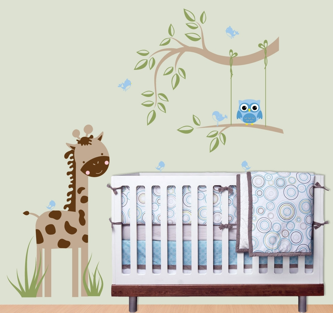 Baby Room Wall Art Regarding Famous Baby Boy Room Wall Decor – Blogtipsworld (Gallery 13 of 20)
