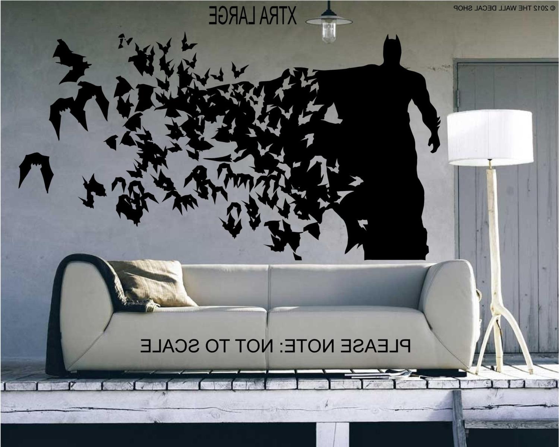 Batman Xtra Large Spectacular Batman Wall Art – Wall Decoration Ideas Inside Well Liked Batman Wall Art (View 4 of 20)