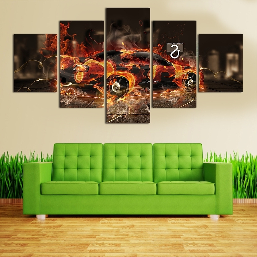 Best And Newest Elegant Cool Wall Art Paintings (View 3 of 15)