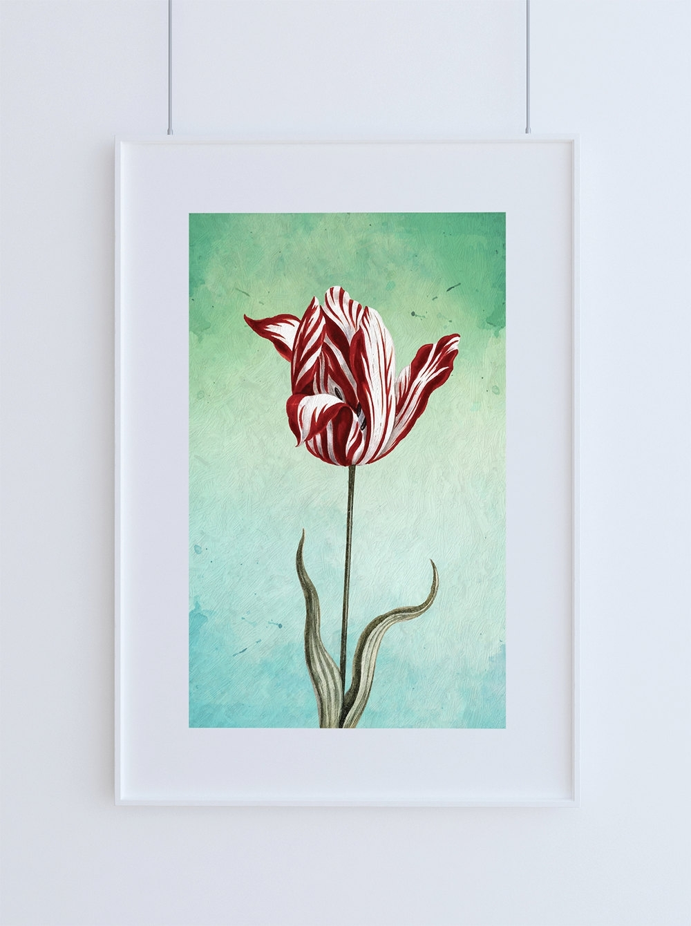 Best And Newest Floral Wall Art For Tulip Print Tulip Art Botanical Print Flower Tulips Decor Floral (View 4 of 20)