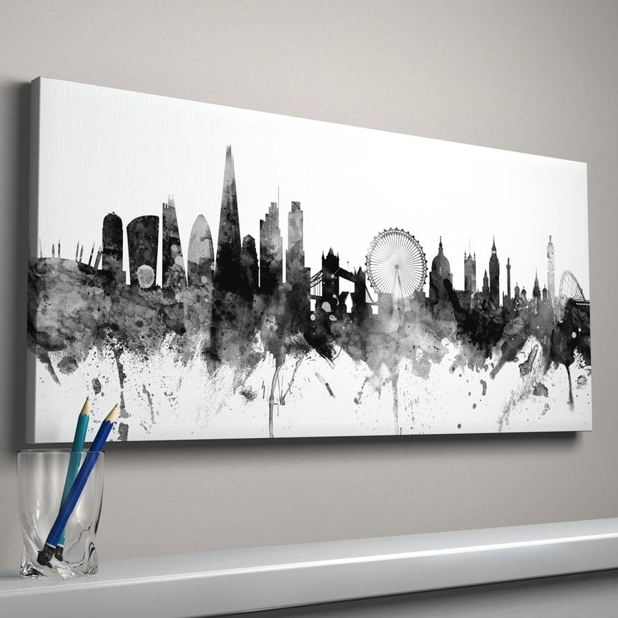 Best And Newest London Wall Art In Wall Decoration (View 1 of 20)