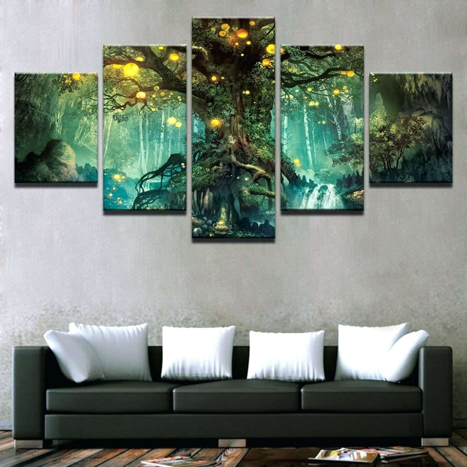Best And Newest Multi Piece Wall Art – Culturehoop Within Multi Piece Wall Art (Gallery 15 of 20)