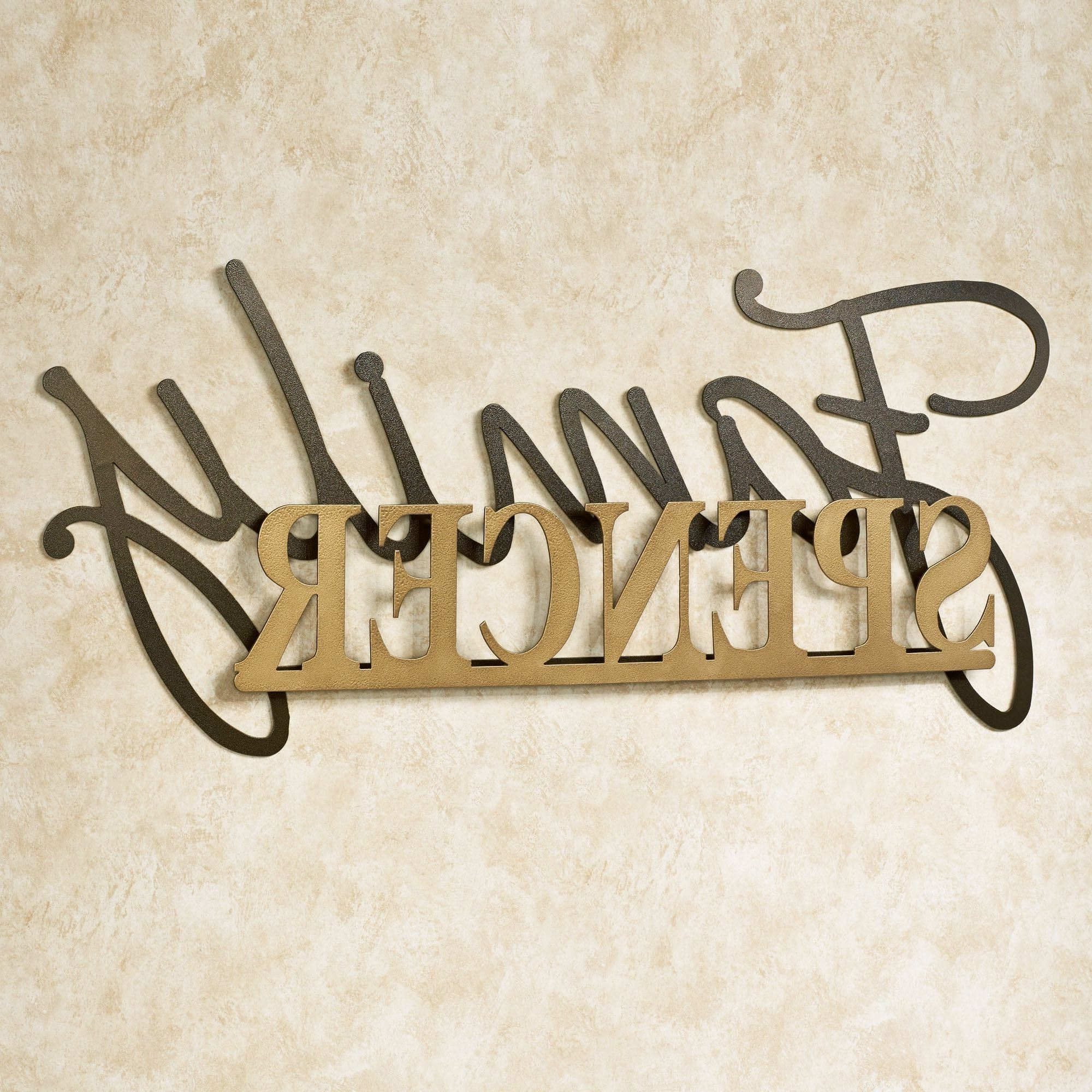 Best And Newest Signature Personalized Metal Wall Art Signjasonw Studios With Personalized Metal Wall Art (Gallery 6 of 20)