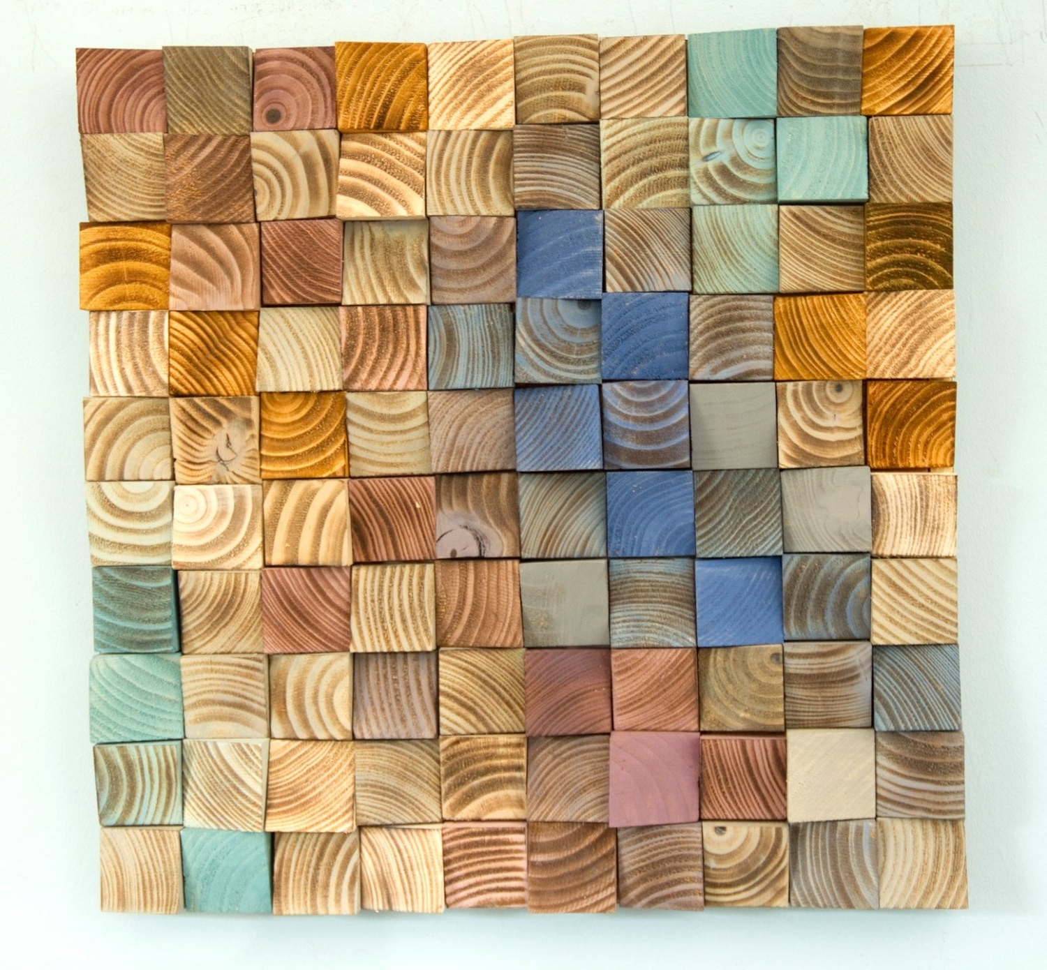 Best And Newest Wood Wall Art, Mosaic Wodd Art, Geometric Wall Art In Geometric Wall Art (View 3 of 20)