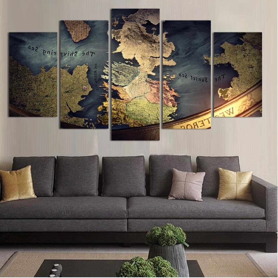 Best And Newest World Map Wall Art Canvas Inside 91 Map Home Decor World Map Wall Art Spiritual Vintage Carved Design (View 8 of 20)
