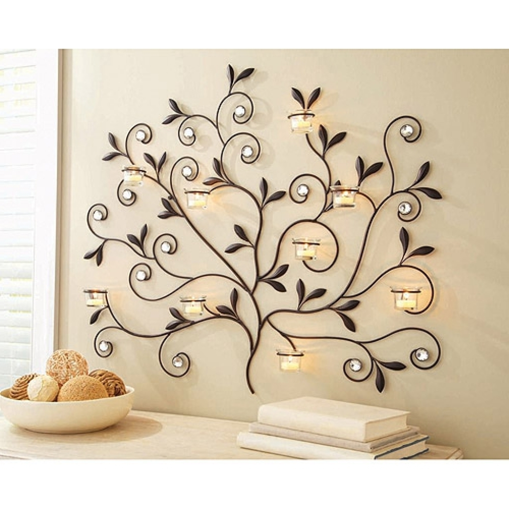Better Homes And Gardens Candle Holders Accessories Candles Walmart In Well Liked Walmart Wall Art (View 3 of 20)