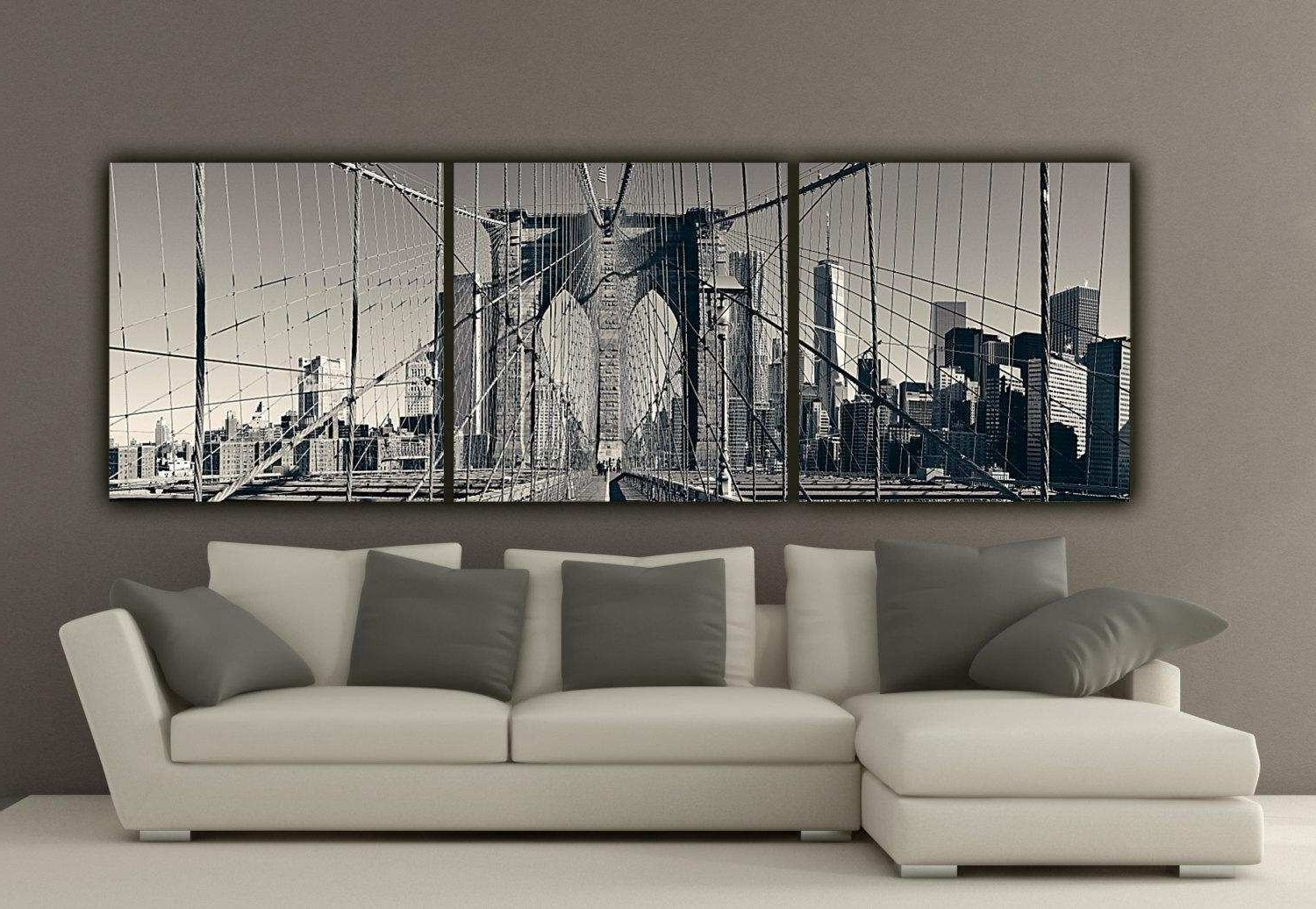 Black And White Canvas Art New 20 S Black And White New York Canvas With Regard To Current New York Canvas Wall Art (Gallery 14 of 15)