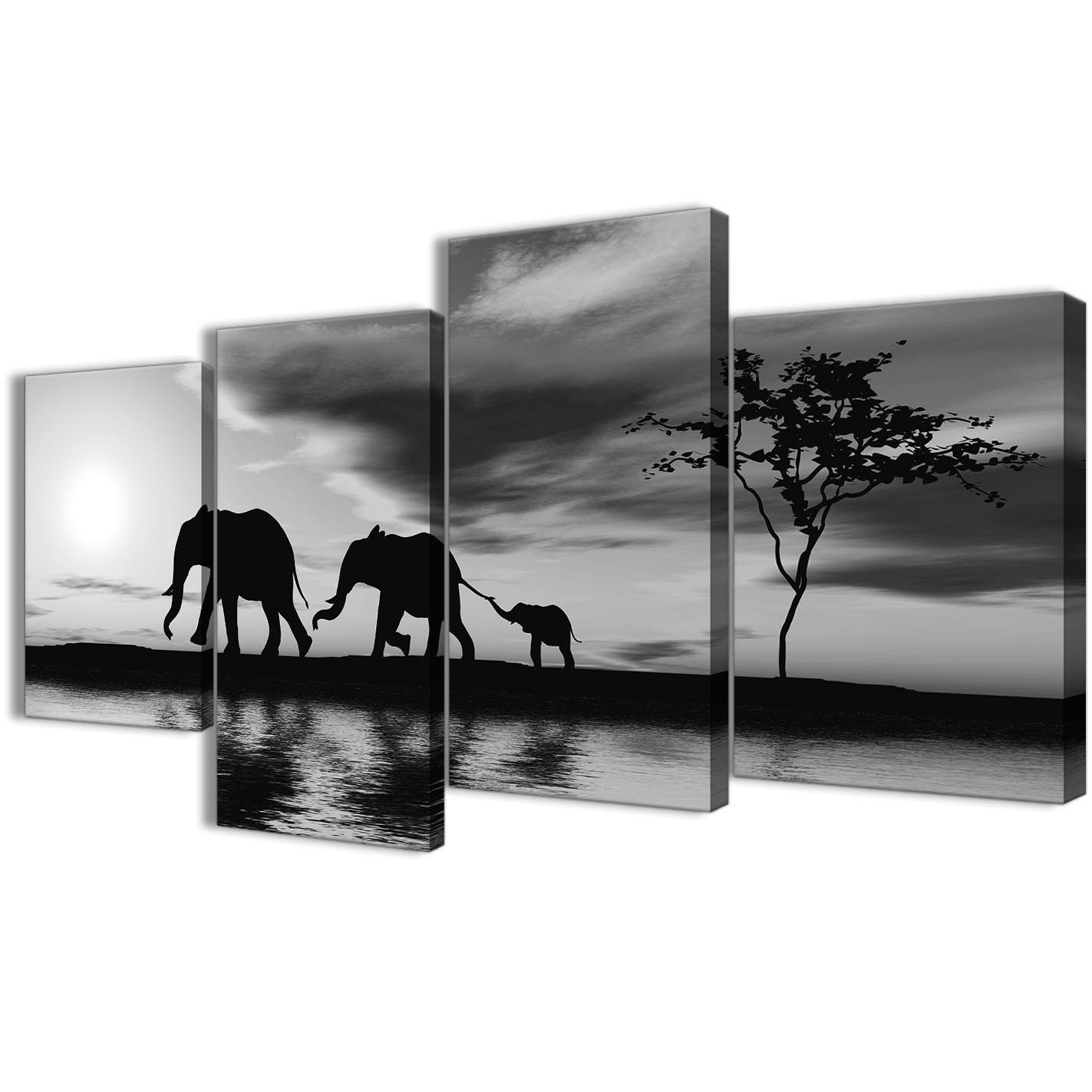 Featured Photo of Black And White Large Canvas Wall Art