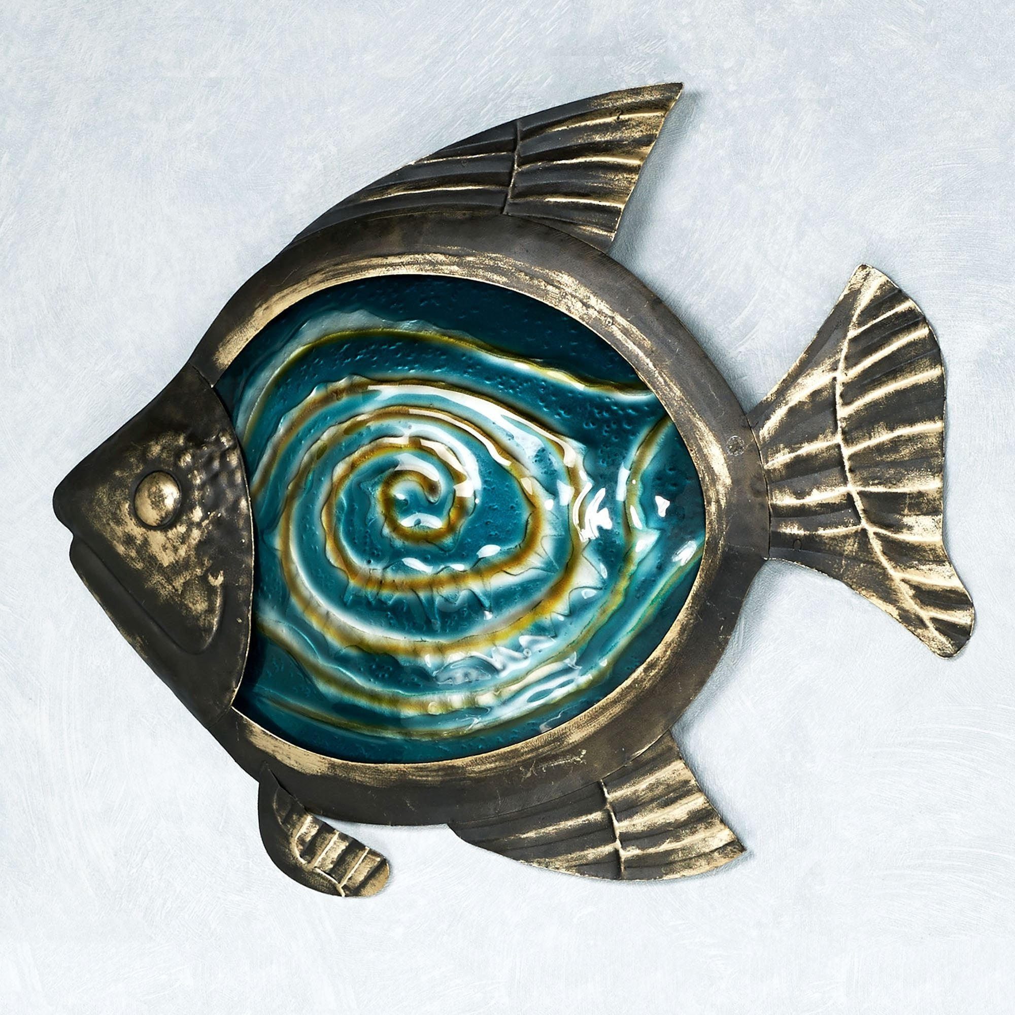 Black Metal Wall Art Intended For Preferred Sealife Indoor Outdoor Glass Metal Wall Art (View 5 of 20)