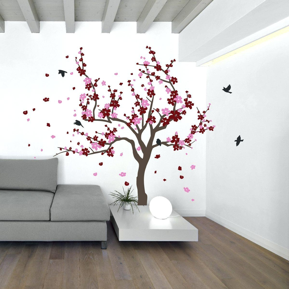 Blossom Tree Wall Decal Uk – Gutesleben In 2018 Cherry Blossom Wall Art (View 2 of 20)