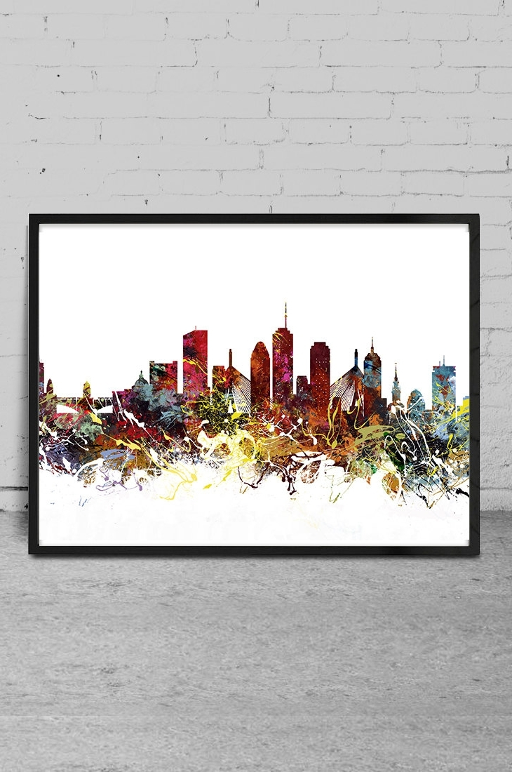 Boston Wall Art For Most Popular Wall Art Boston – Elitflat (View 7 of 20)