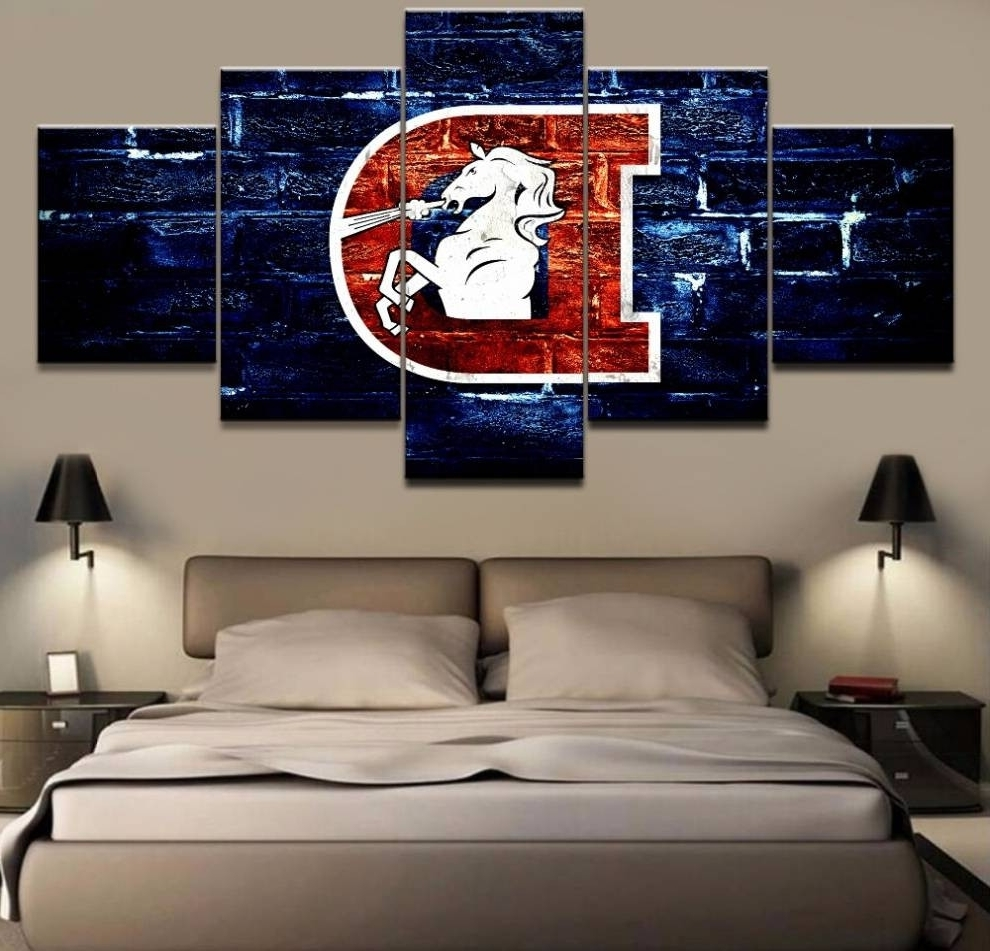 Broncos Wall Art Chic 20 Best Ideas Of – Mycraftingbox For Well Liked Broncos Wall Art (View 2 of 20)