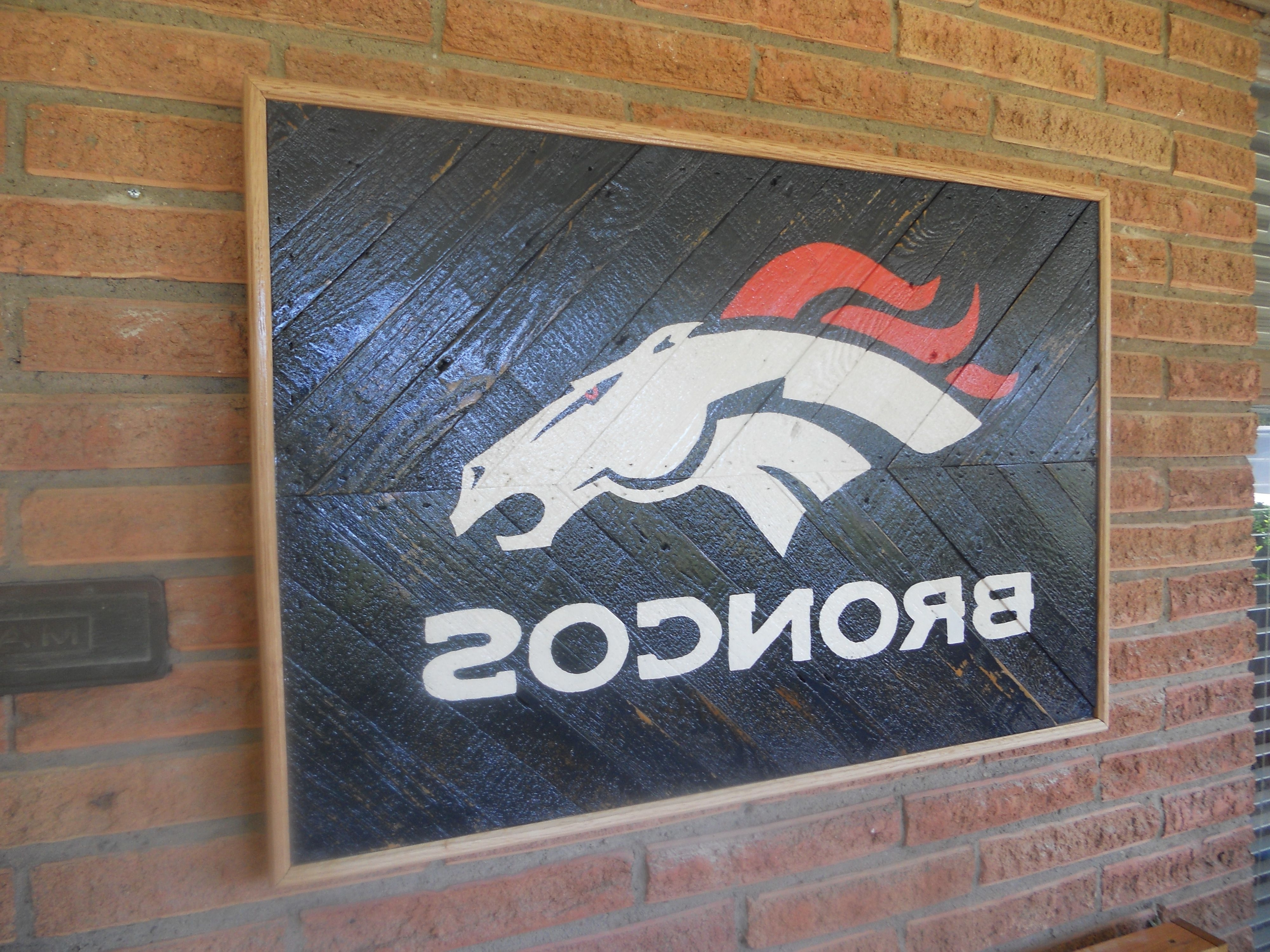 Broncos Wall Art Inside Latest Broncos Wall Art – Www (View 17 of 20)
