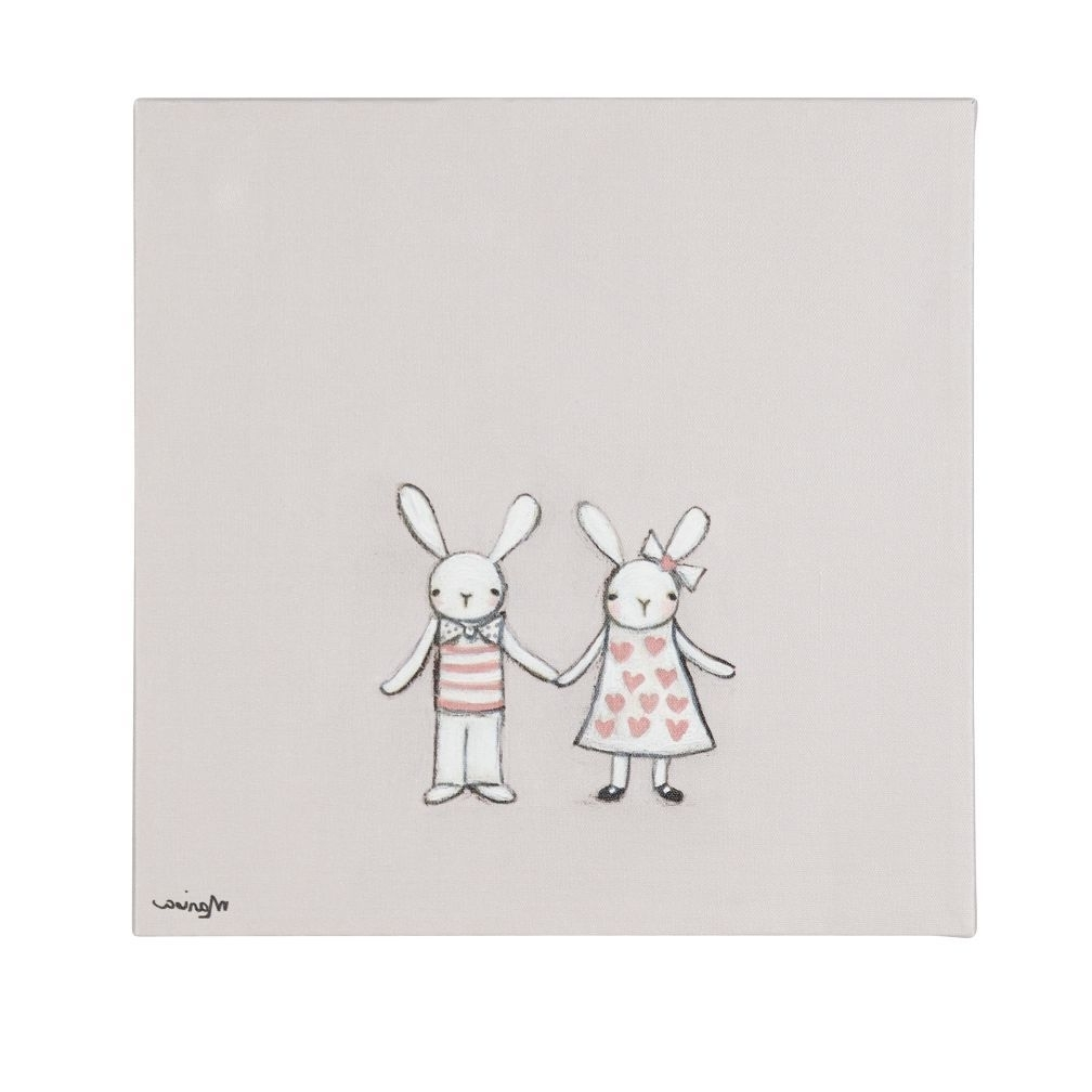 Bunny Wall Art Intended For Fashionable So Many Exclusive Kids Wall Art Prints And Decals, So Little Time (View 7 of 20)