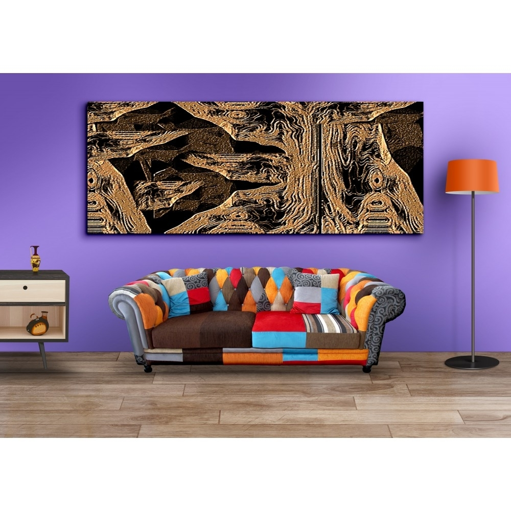 Buy Long Horizontal Canvas Painting Wall Art For Home Decor With Popular Horizontal Wall Art (View 5 of 20)