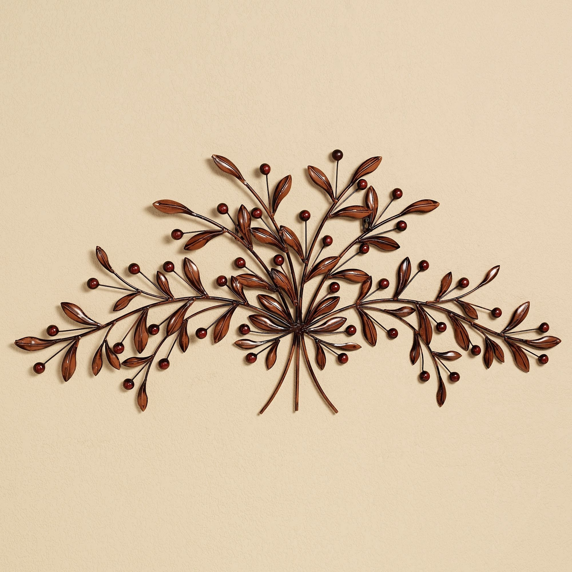 Cantabria Branch Metal Wall Art Spray For Recent Kitchen Metal Wall Art (Gallery 9 of 20)