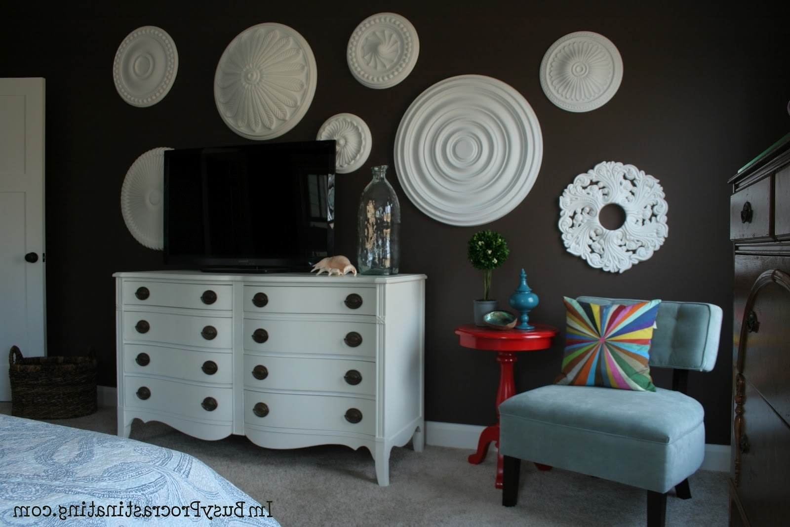 Ceiling Medallions As Wall Art – Elitflat Regarding Most Popular Ceiling Medallion Wall Art (View 4 of 15)