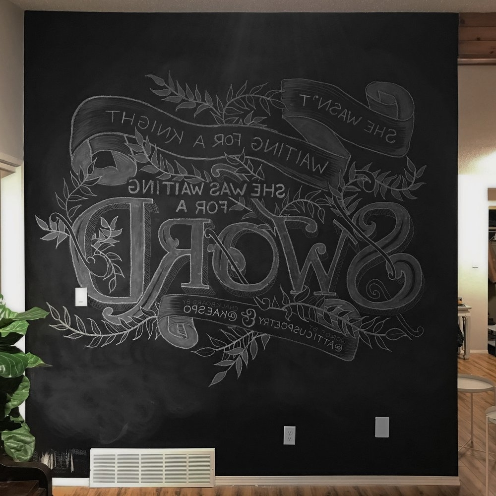 Featured Photo of Chalkboard Wall Art