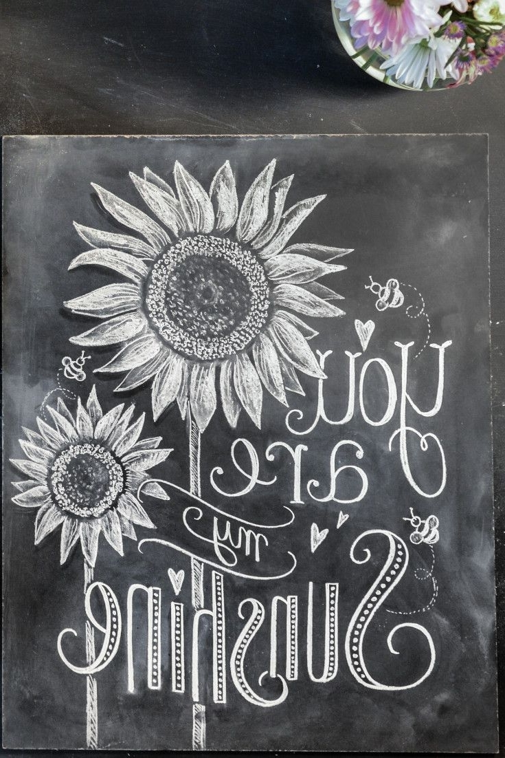 Chalkboard Wall Art Within Well Liked Chalkboard Art Ideas 25 Best Ideas About Chalkboard Wall Art On (Gallery 14 of 20)