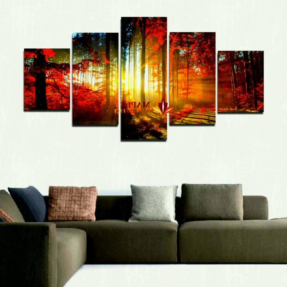 Cheap Oversized Canvas Wall Art With Well Known Favorite Livingroom Print Cheap Piece Piece Huge Canvas Art Living (View 5 of 20)