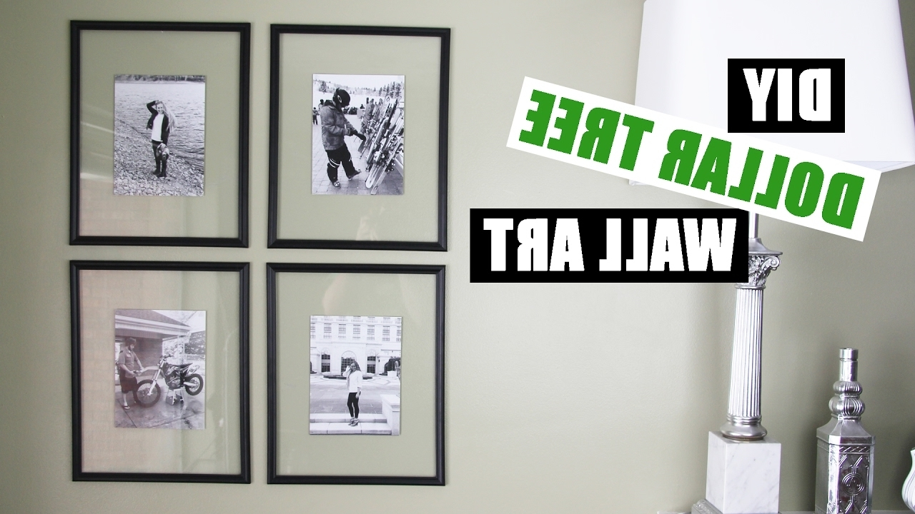 Cheap Wall Art With Regard To Latest Dollar Tree Diy Floating Frame Art (View 10 of 15)