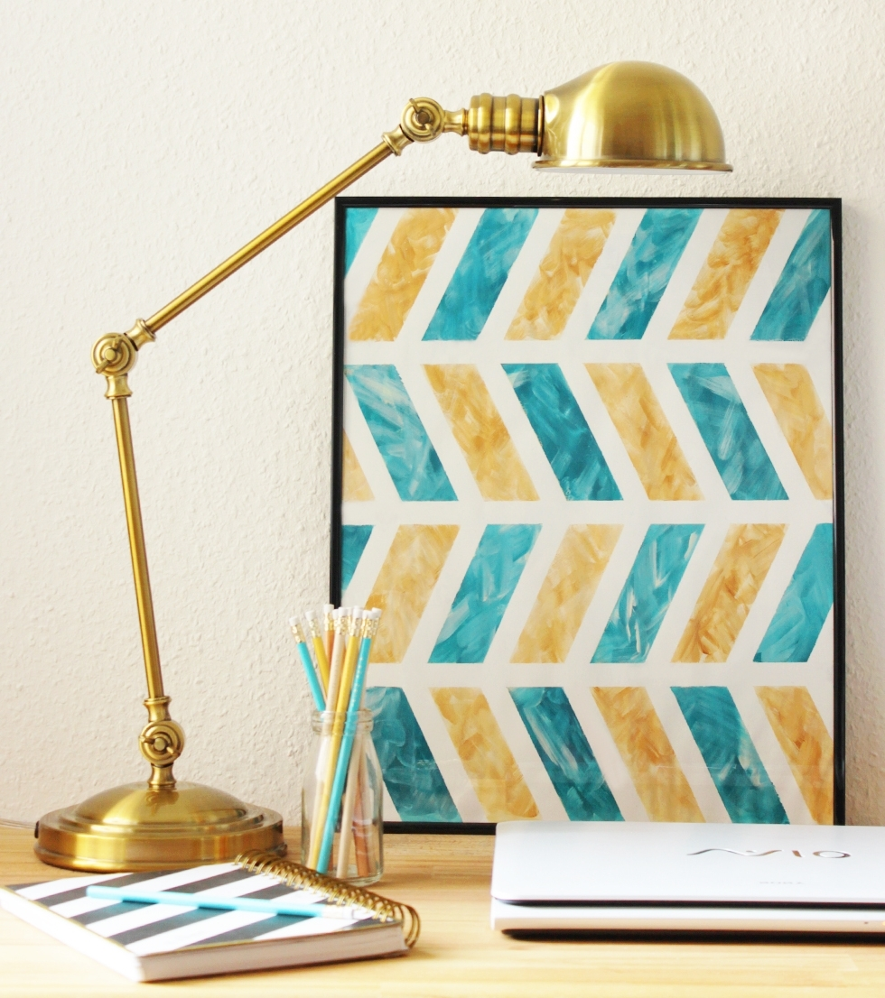 Chevron Wall Art Throughout Latest Diy Chevron Wall Art (View 13 of 20)