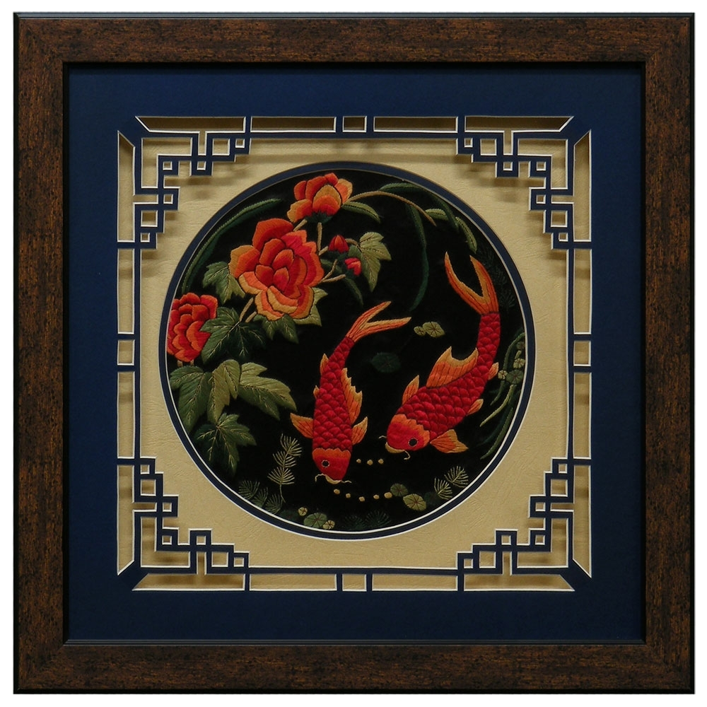 Chinese Wall Art Pertaining To Trendy Chinese Wall Art – Elitflat (View 8 of 20)
