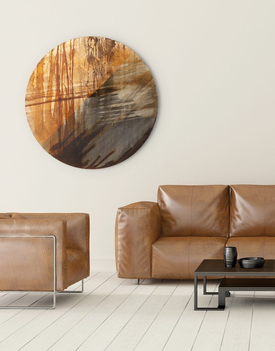 Circle Wall Art Within Latest Appealing Copper Wall Art Home Decor Circle Art Copper Circle Copper (Gallery 14 of 20)