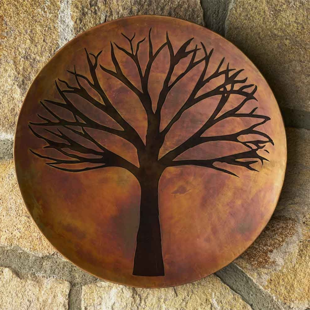 Copper Finish Tree Of Life Wall Art (View 1 of 15)