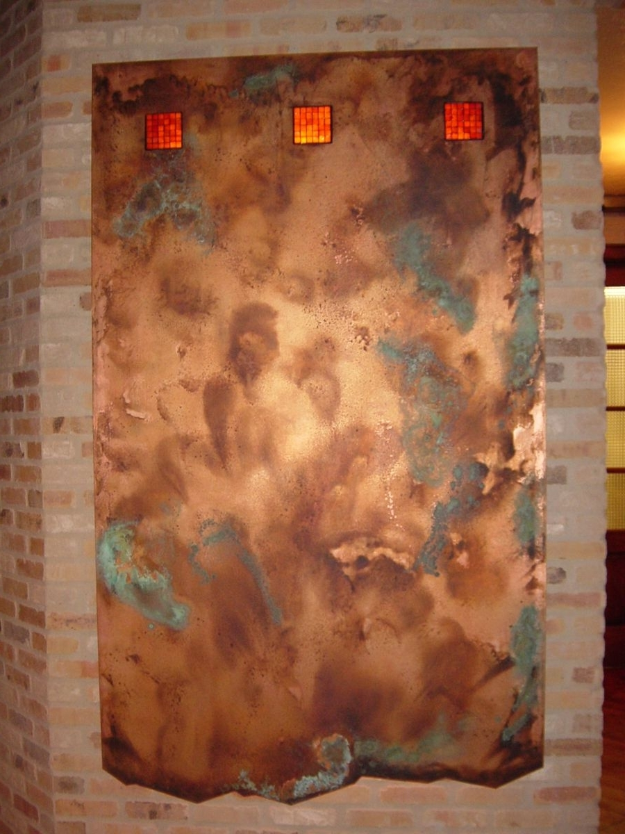Copper Wall Art For Favorite Handmade Copper Wall Artworkck Valenti Designs, Inc (View 13 of 15)