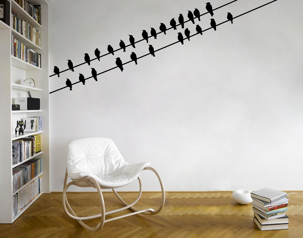 Corner Wall Art Within Most Popular Birds Corner – Your Decal Shop (Gallery 2 of 20)