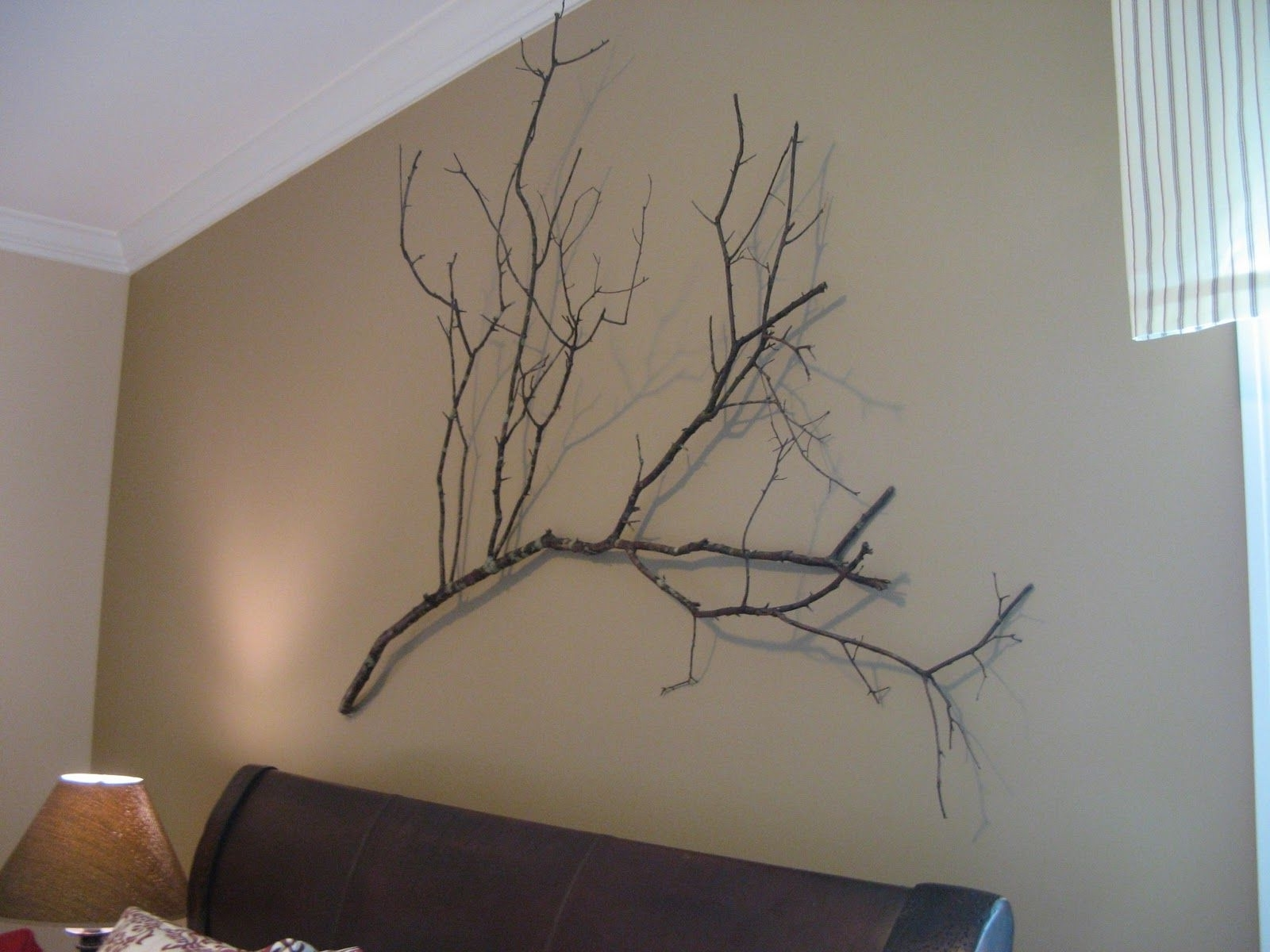 Crate And Barrel Wall Art Regarding 2017 Tree Branch Wall Art, Crate And Barrel Knock Off, Rustic Wall Art (View 4 of 20)