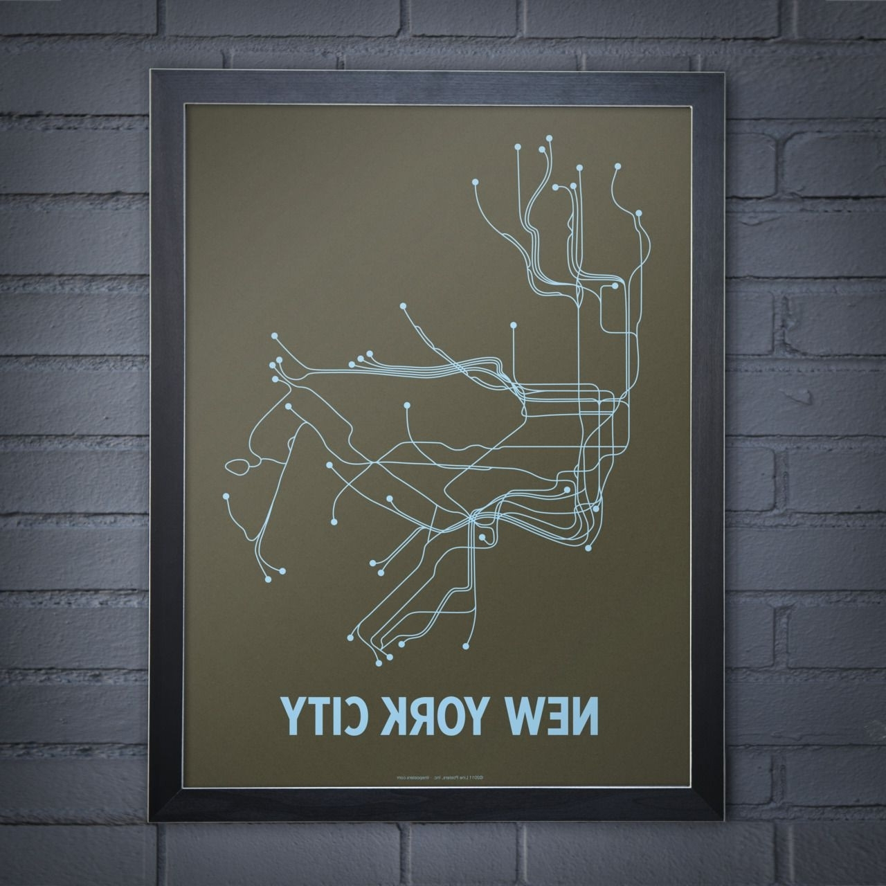 Current New York City Map Wall Art Pertaining To 10 Nyc Subway Map Wall Art (View 2 of 20)