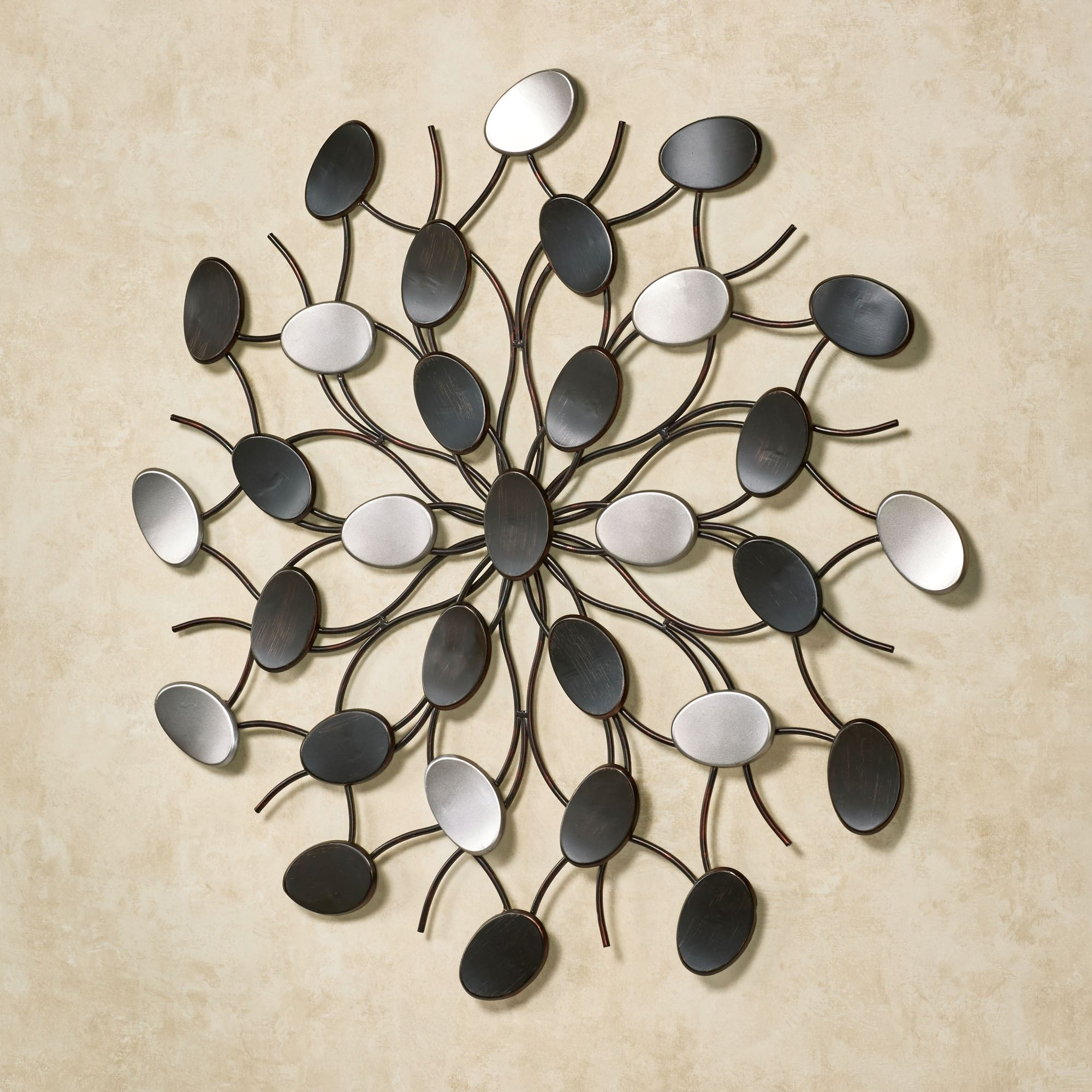 Current Radiant Petals Abstract Metal Wall Art Inside Wall Art Metal (View 7 of 20)