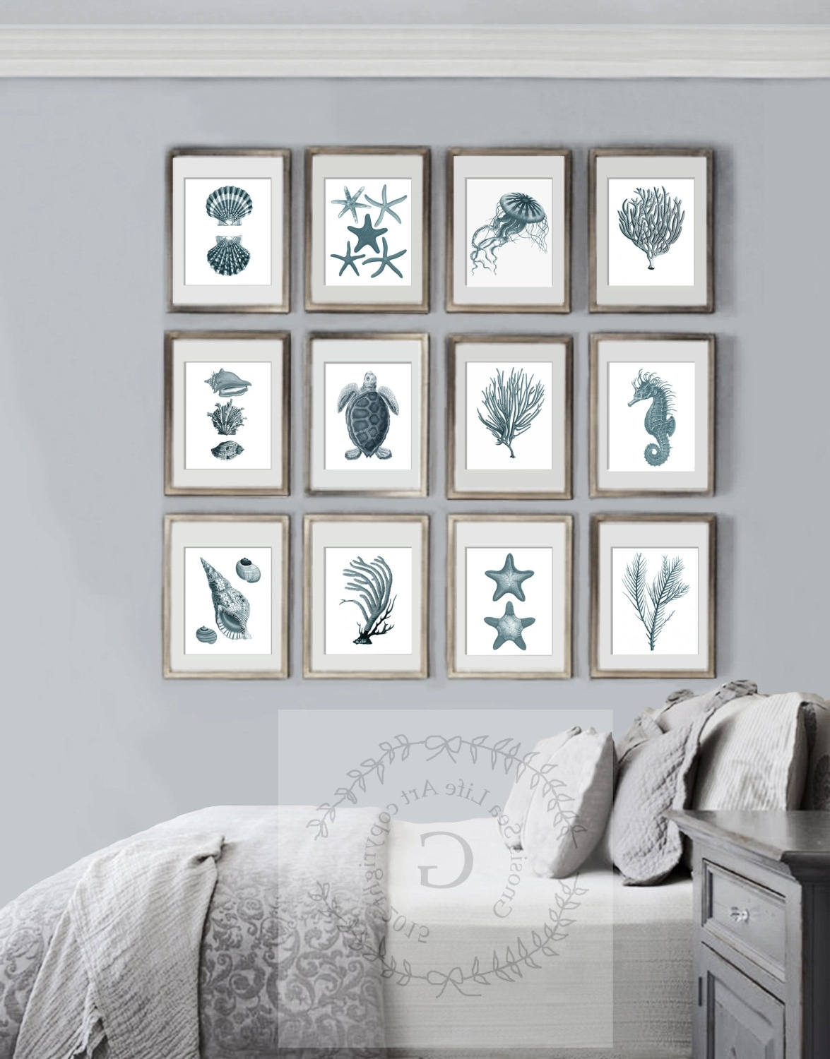 Current Stunning Design Ideas Coastal Wall Art 20 Of Canvas Crate Barrel Throughout Crate And Barrel Wall Art (Gallery 11 of 20)