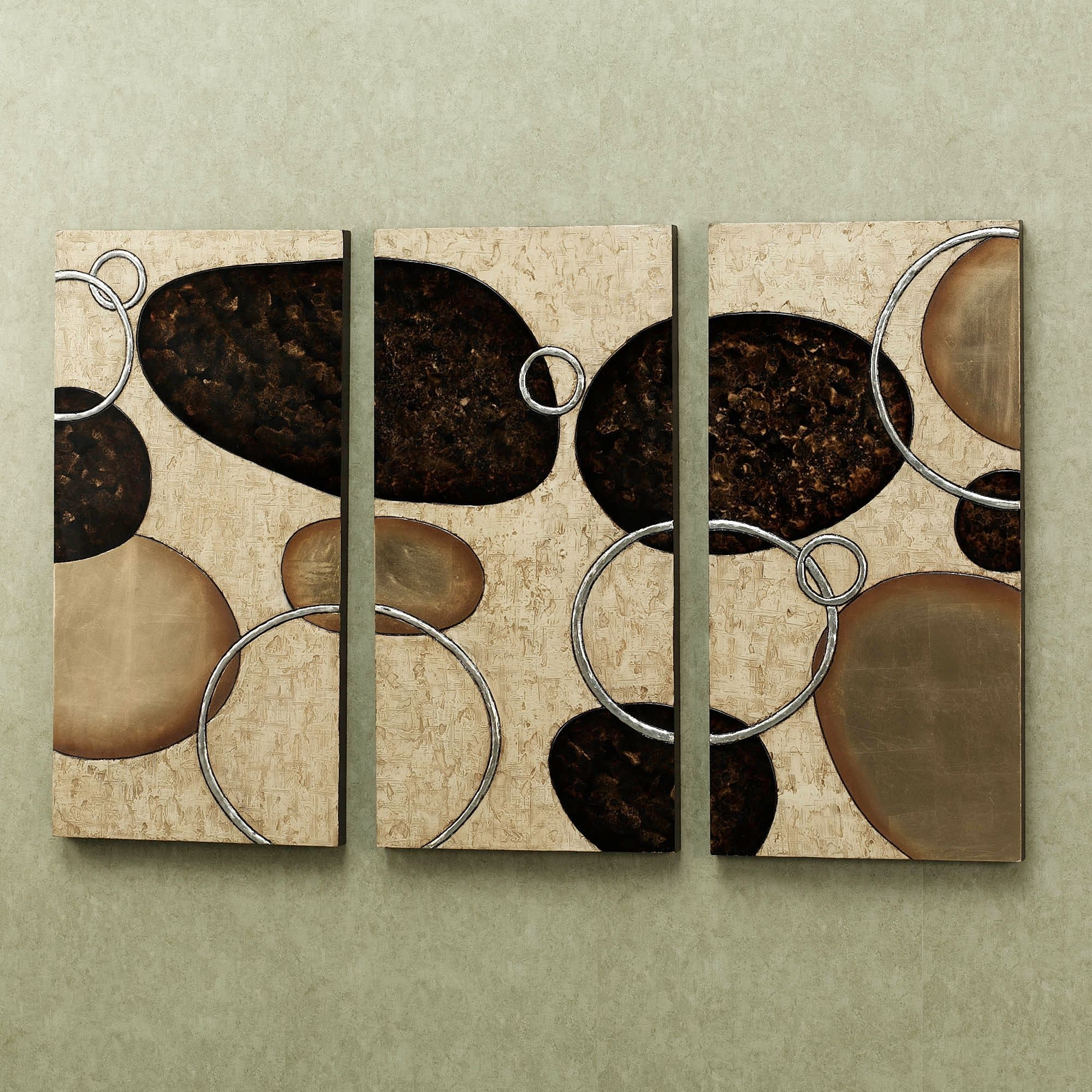 Current Triptych Wall Art With Regard To Levitate Triptych Wall Art Set (View 14 of 20)
