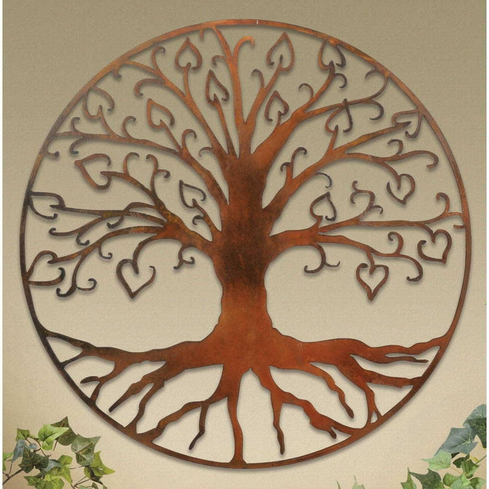 Current Wall Plaques: Tree Of Life Wall Art Plaque Pertaining To Tree Of Life Wall Art (Gallery 5 of 15)